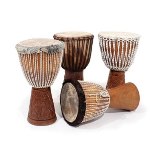 1 genuine african  djembe drum full size, delivery in about 8 days USA
