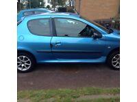 Peugeot 206, 02 plate.. 1.4 diesel MOT until Dec £290