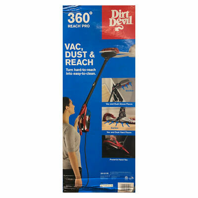 Dirt Devil - 360° Reach Pro Bagless Stick Vacuum - Red