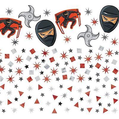 34g of Ninja Confetti (Ninja's, Ninja heads, throwing stars)](Ninja Stars Paper)