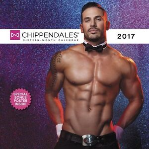 Chippendales 2017 Wall Calendar BRAND NEW Unopened