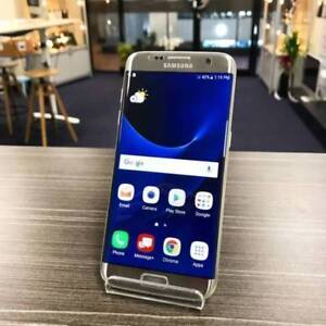 Galaxy S7 Edge Silver 32G Good condition Unlocked AU model Invoic