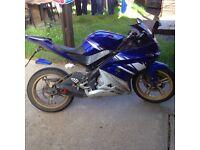Yamaha Yzf 125 r race cams
