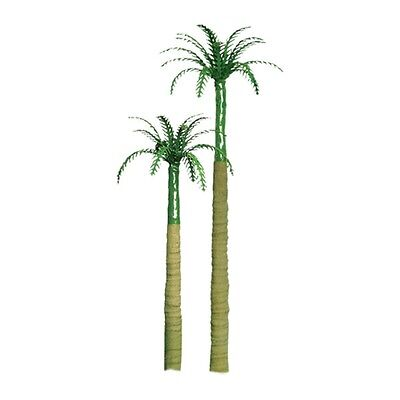 "JTT SCENERY 94241 PROFESSIONAL SERIES 1"" ROYAL PALM TREES 6PK Z-SCALE"