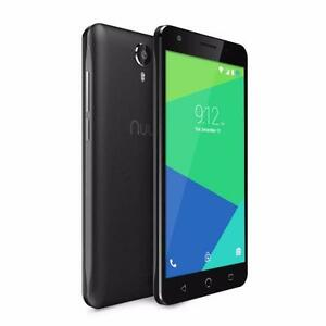 "NUU Mobile N5L 5.5"" HD LTE Android™ 5.1, Lollipop 1GB/8GB Expandable, Black or White"