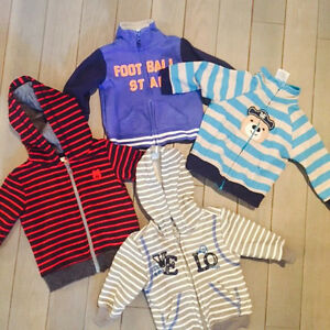 Baby boy pull overs 3-6 months