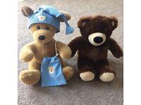 Guenine bear factory puppy and bear