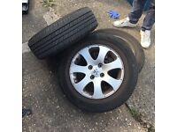 Peugeot 307 tyres