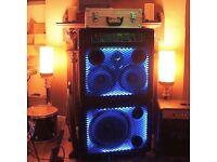 Trace Elliot 300 watt 7210SMC bass rig