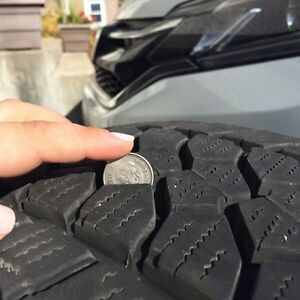 PRICE DROP! Almost New Winter Tires  West Island Greater Montréal image 5