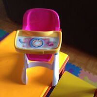 Highchair eating baby TOY