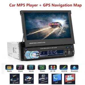 GPS Nav Single Din 7in Touch Screen Car Stereo MP5 Player Bluetoo Doveton Casey Area Preview