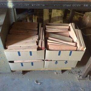 Douglas fir wedges