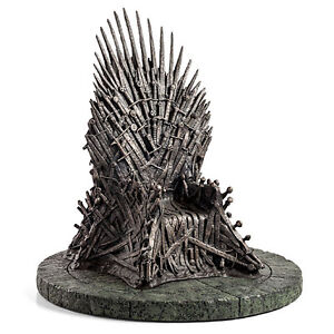Game of thrones iron throne 7inch replica and Hodor statue 10 in Kitchener / Waterloo Kitchener Area image 2