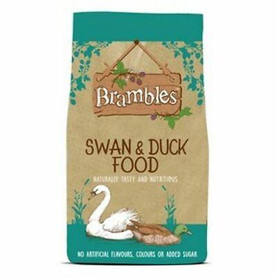 12.55kg BRAMBLES FLOATING SWAN & DUCK FOOD Pellets Nuggets Geese Moorhens Coots