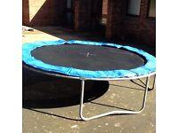 10ft kids trampoline Good condition Can deliver or deliver & erect - Telford