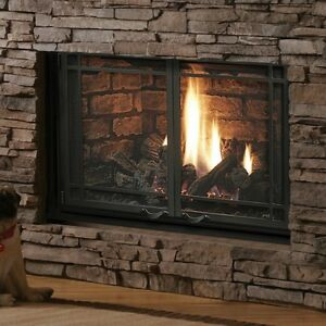 Kingsman Zero Clearance Direct Vent (Propane) Fireplace