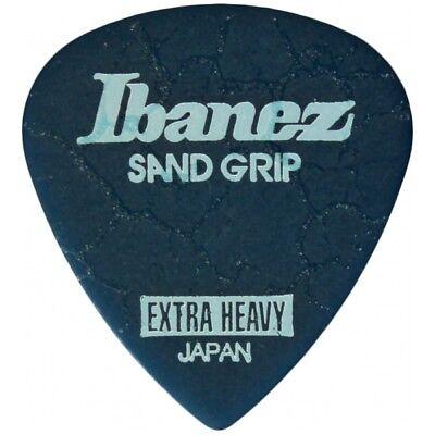 Ibanez Sand Grip Crack Extra Heavy Blue Plek Plektrum Plektren Plektron