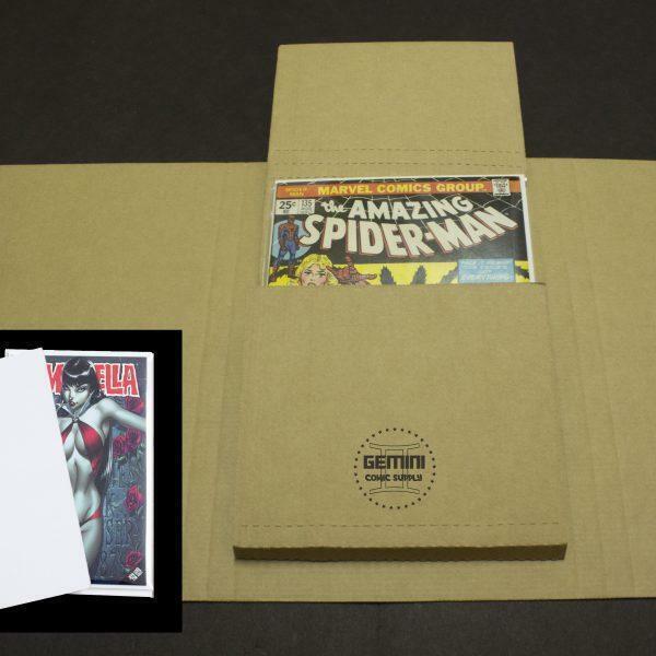 GEMINI Comic Book Flash Mailers and Comic Divider Pads Combo