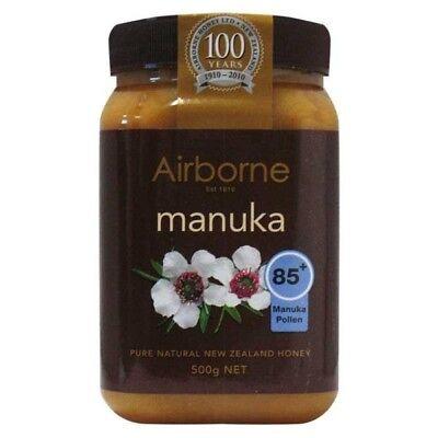 500g New Zealand AIRBORNE PURE MANUKA HONEY 85+ ***BEST PRICE