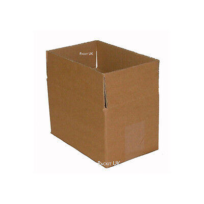 15 Postal Storage Cardboard Boxes 7.9 x 4.9 x 4.4