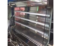 Display stainless steel refrigerator/fridge