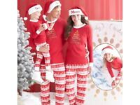 Matching Family Christmas Pyjamas Set - (NEW WITH TAGS) (Hats or slippers not included)