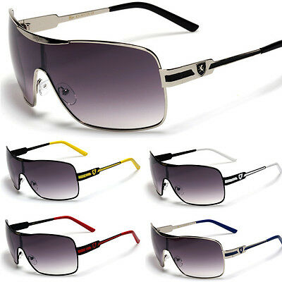 Premium Square Mens Discount Designer Sunglasses NEW Shield Sunnies (Discounts Sunglasses)