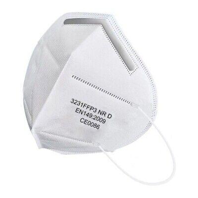 FFP3 10x Maske für Mundschutz EU Norm gemäß Norm EN149:2009 CE0086 zertifiziert