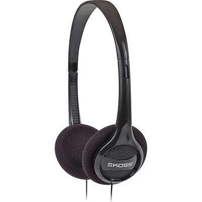 Koss Lightweight Comfortable Stereo Headphones Black White Green Red Blue Purple