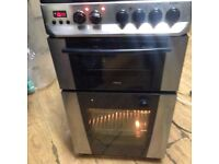 £75 ZANNUSSI DOUBLE OVEN ELECTRIC COOKER