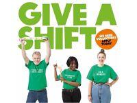 Online Sales VOLUNTEER needed at Oxfam HIGHGATE shop