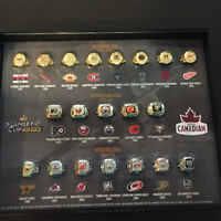 MOLSON NHL RINGS COMPLETE SET OF 20 $650