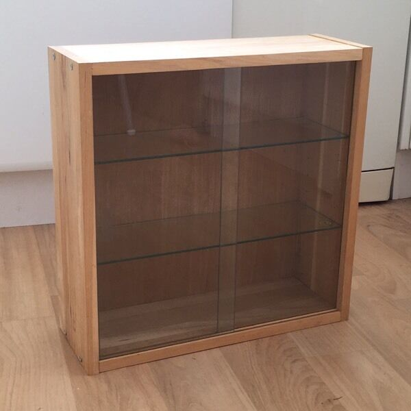 Ikea Wickelkommode Leksvik Gebraucht ~ IKEA JÄRNA glass display cabinet cupboard  in Fishponds, Bristol