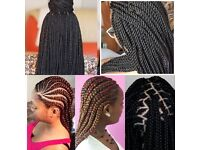Afro Caribbean hair Dresser! I Specialise in Braids, Weave, Twist & Wigs