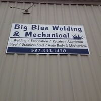 big blue welding&mechanical