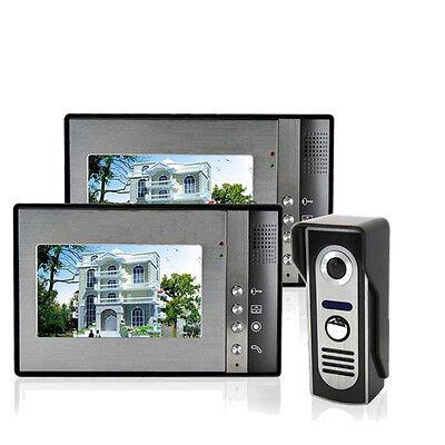"7"" Wired Video Door Bell Phone Doorbell CCTV Home Security Camera Night Vision"