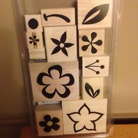 6 Stampin Up stamp sets for $15 each