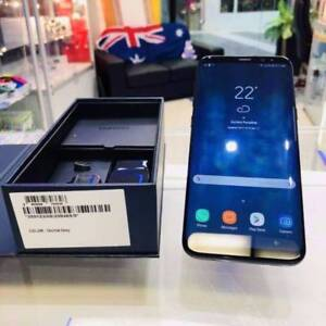 AS NEW GALAXY S8 PLUS 64GB ORCHID GREY SAMSUNG WARRANTY INVOICE Ashmore Gold Coast City Preview