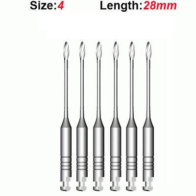 Top Quality Endo Dental Endodontic Gates Glidden Drills 4 28mm 6pkg