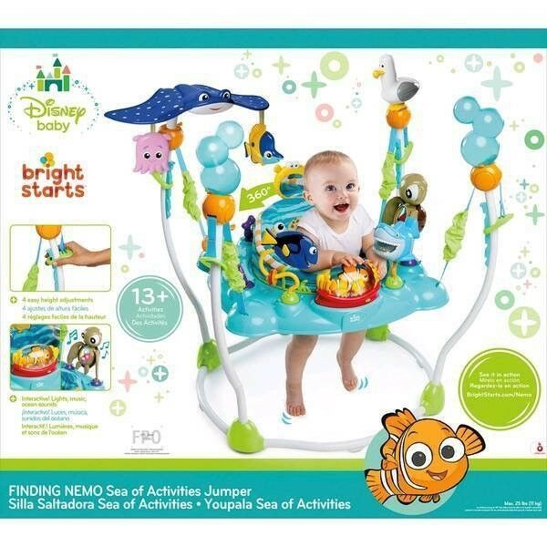 2b382aa1e6b4 Disney Baby Finding Nemo Sea of Activities Jumperoo
