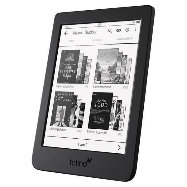 Tolino page 2 eBook-Reader (6 Zoll) Schwarz 8GB Touch-Display Frontlight *NEU*✅