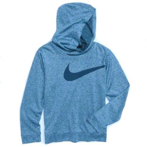 New Nike Little Boys Dri-Fit Swoosh Logo Hoodie