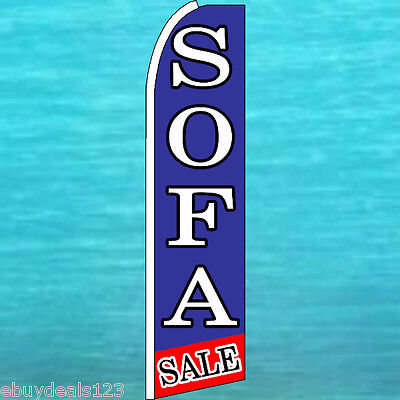 Sofa Sale Flutter Feather Flag Furniture Advertising Sign Bow Banner Swooper