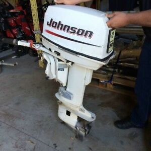2002 Johnson Johnston 30 HP 2 Stroke