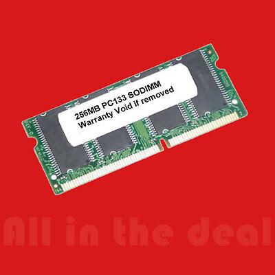 256MB SD RAM SODIMM NON-ECC PC133 133MHz 133 MHz SDRam (Non Ecc Sdram)
