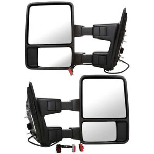 1999-2007 FORD SUPERDUTY TOWING MIRRORS LEFT AND RIGHT POWER