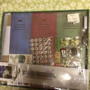 School and sports scrapbooks
