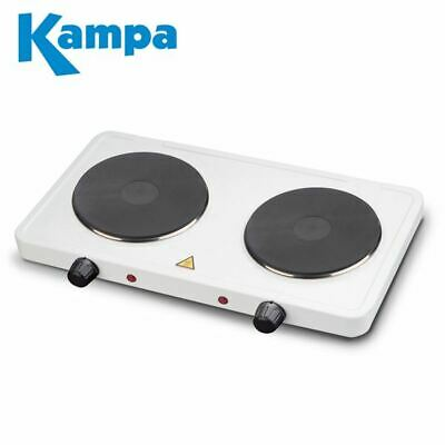 Kampa Fry Up Electric Healthy Grill Griddle Hot Plate 1500w XL VERSION