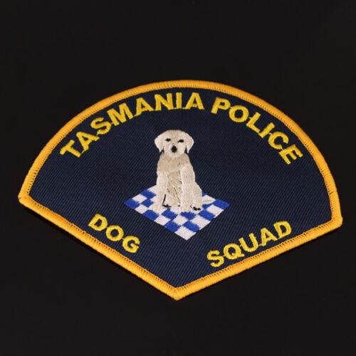 Tasmania Police Dog Squad Patch (social)